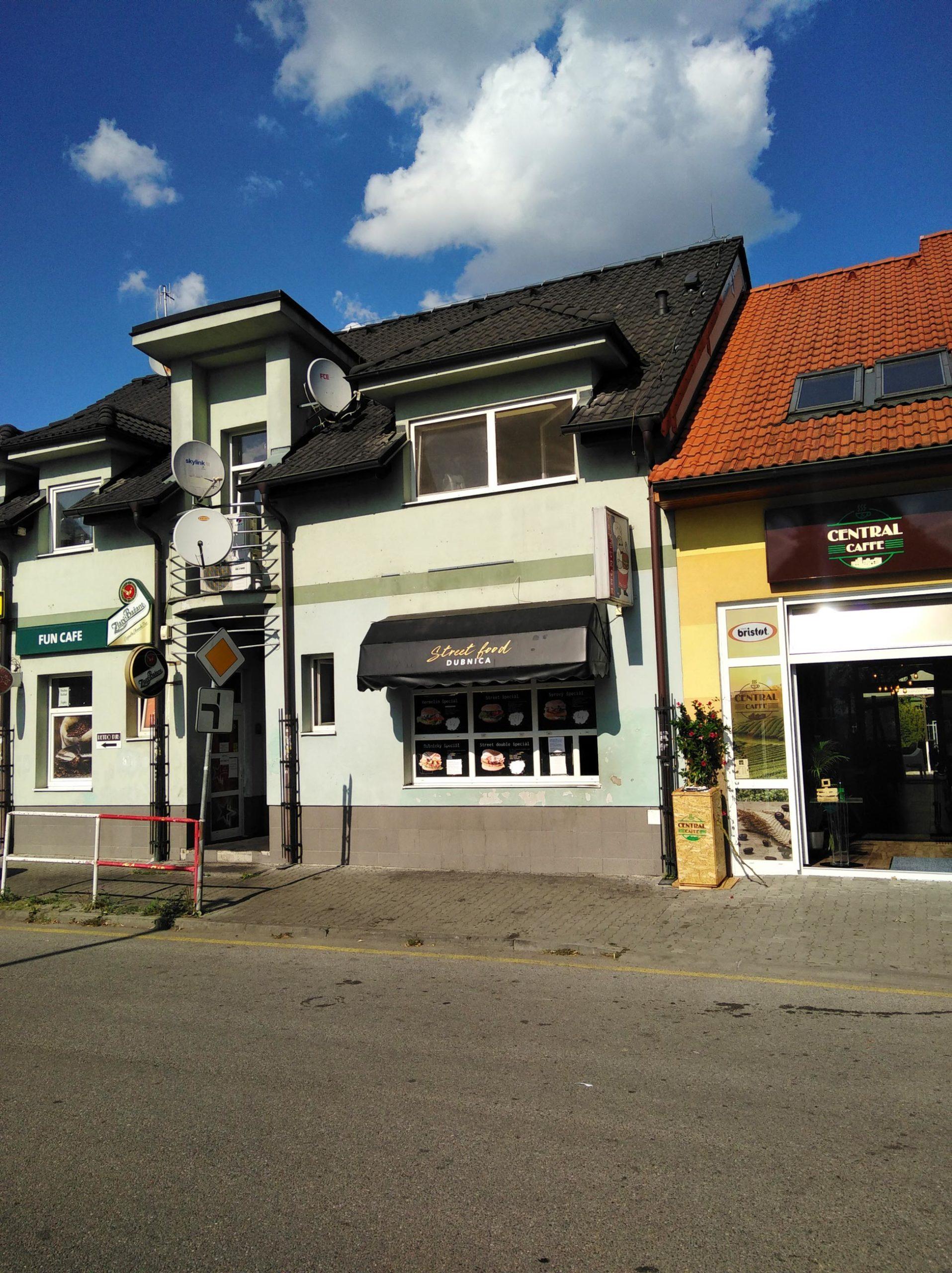 STREET prevádzka Dubnica